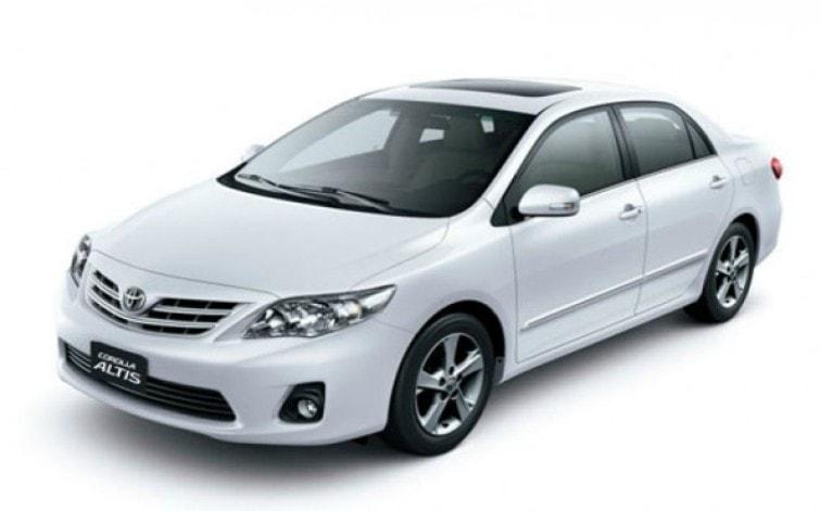 Toyota Altis E Spec